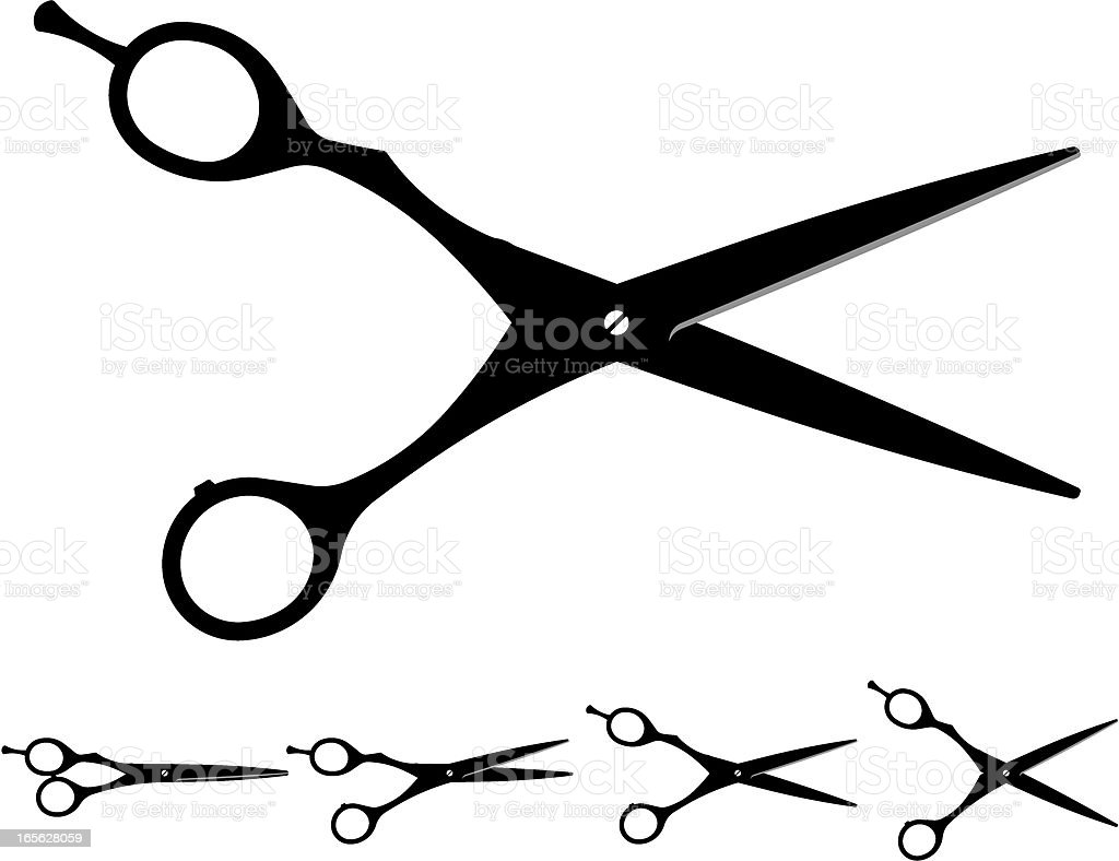 royalty free haircutting scissors clip art vector images rh istockphoto com scissors clipart vector scissors clipart png