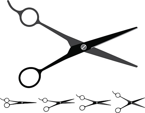 Top 60 Haircutting Scissors Clip Art, Vector Graphics and ...