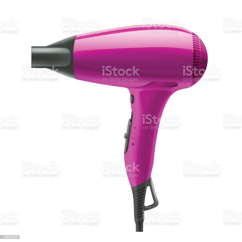 hair dryer clip art, vector images & illustrations - istock