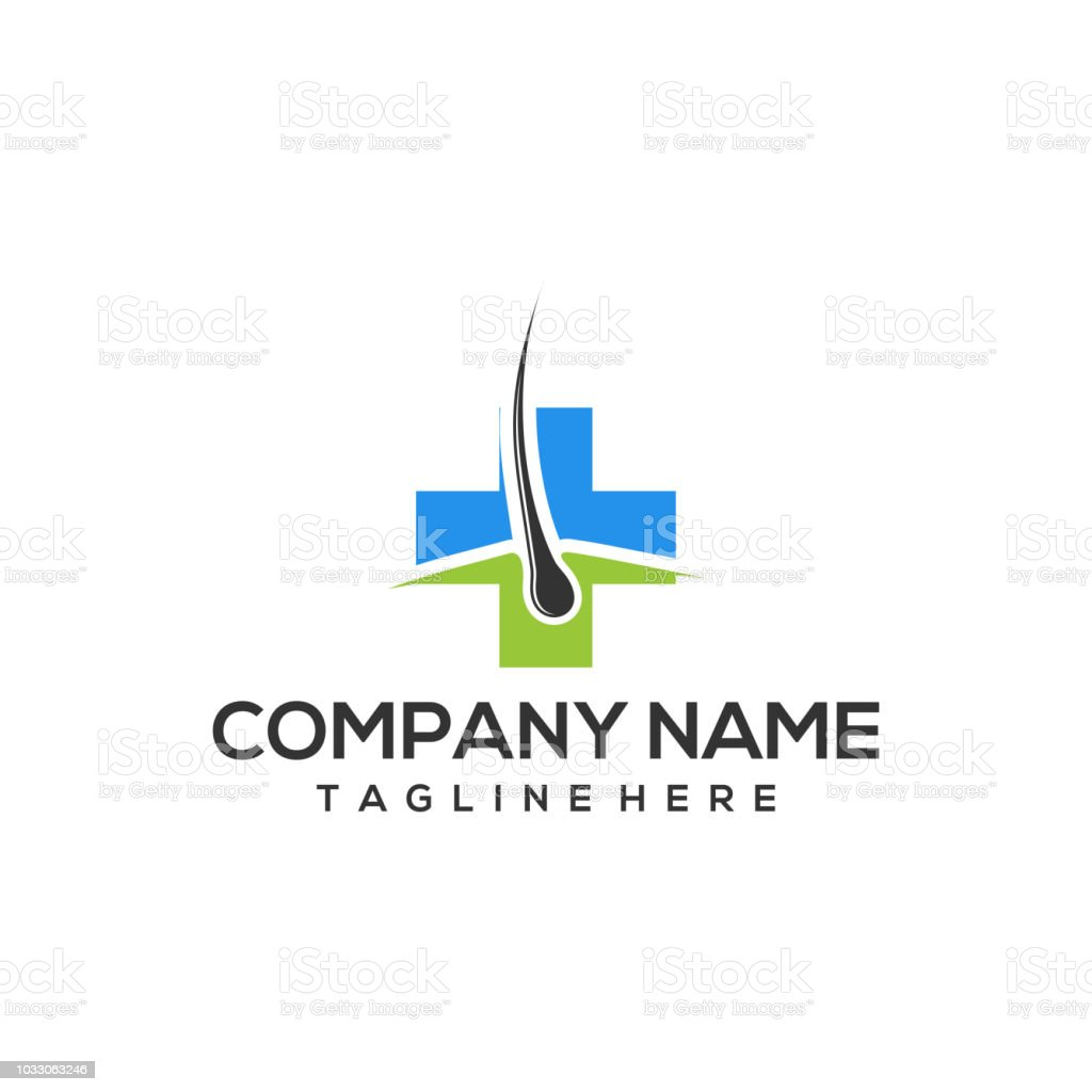 Hair Follicle Logo Hair Care Icon Vector Template Ready For Use ...