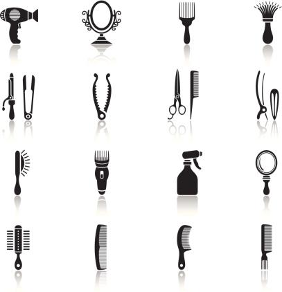 Hair Icon Set