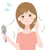 hair loss woman