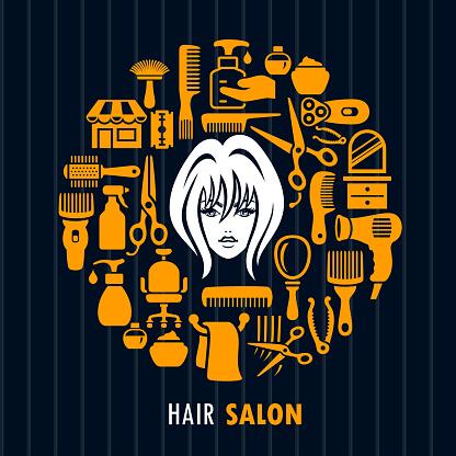 Hair Salon. Beauty.