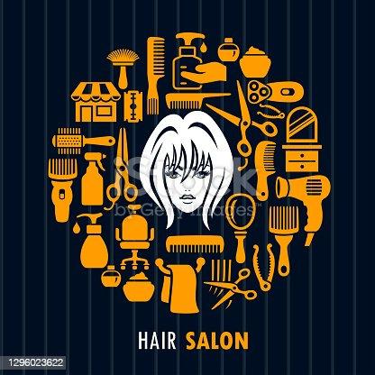 istock Hair Salon. Beauty. 1296023622