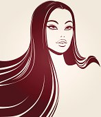 Vector woman,
