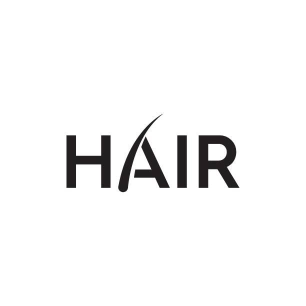 毛髪移植ロゴ - 美容室点のイラスト素材/クリップアート素材/マンガ素材/アイコン素材
