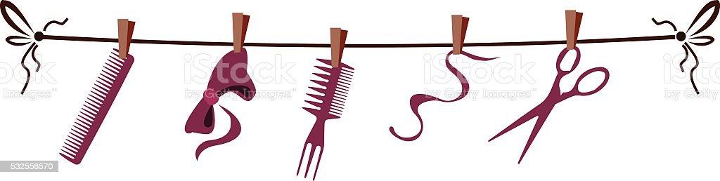 Outils et accessoires de coiffeur pour salon de coiffure for Accessoire pour salon de coiffure