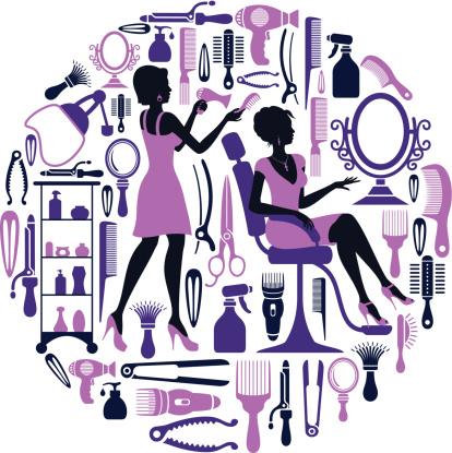 Hairdresser Collage