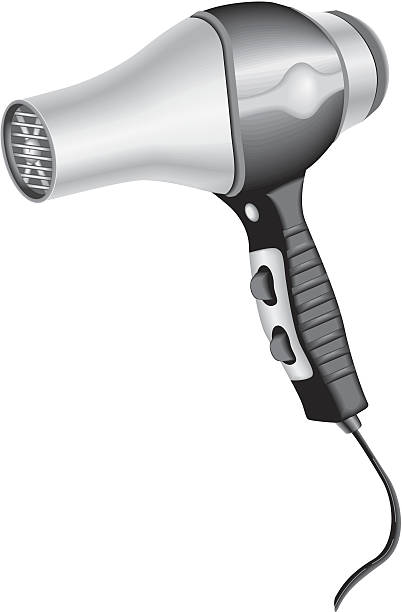 Best Hair Dryer Illustrations, Royalty-Free Vector ...