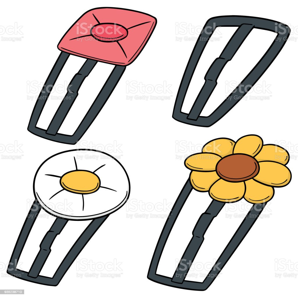 hairpin vector art illustration