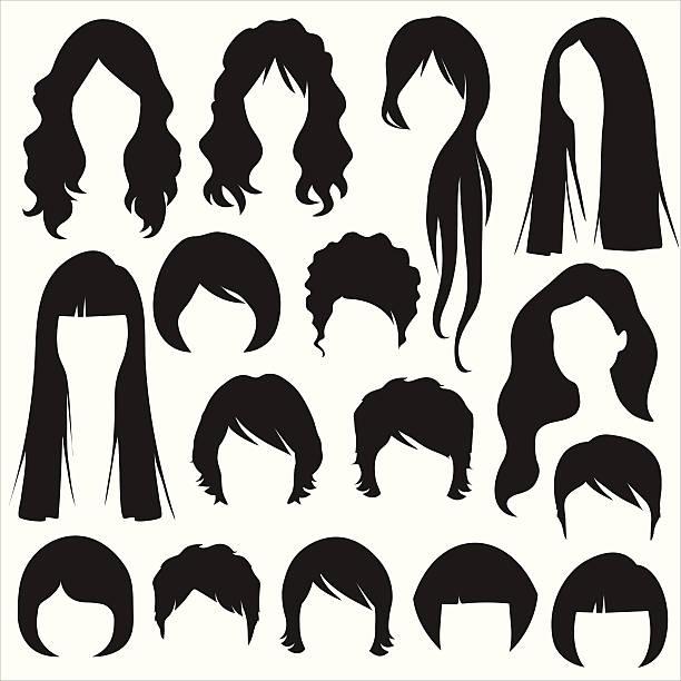 ilustraciones, imágenes clip art, dibujos animados e iconos de stock de peinado - peinado