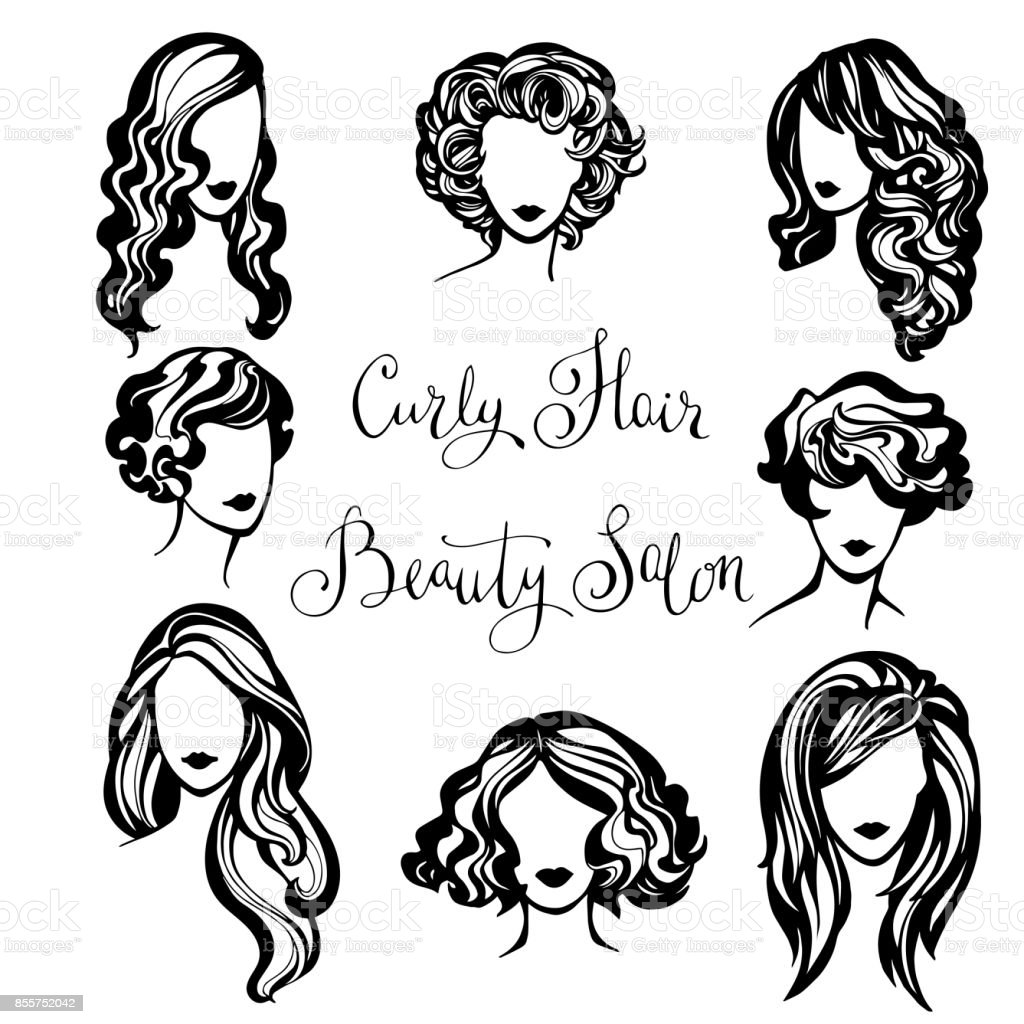 Vector Hairstyles: Hairstyles Stock Vector Art & More Images Of Adult