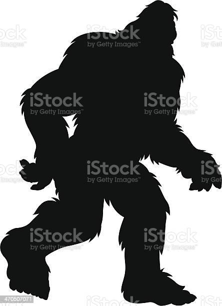 Hairy bigfoot silhouette vector id470507071?b=1&k=6&m=470507071&s=612x612&h= wewjgdvj3stobbzvpeod192pp0gyyzefv hx1m2wei=