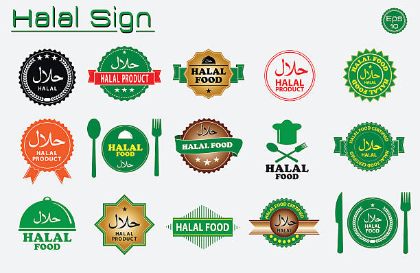 Royalty Free Halal Clip Art Vector Images Illustrations Istock