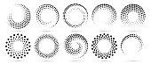 istock Half tone circle 1296632236