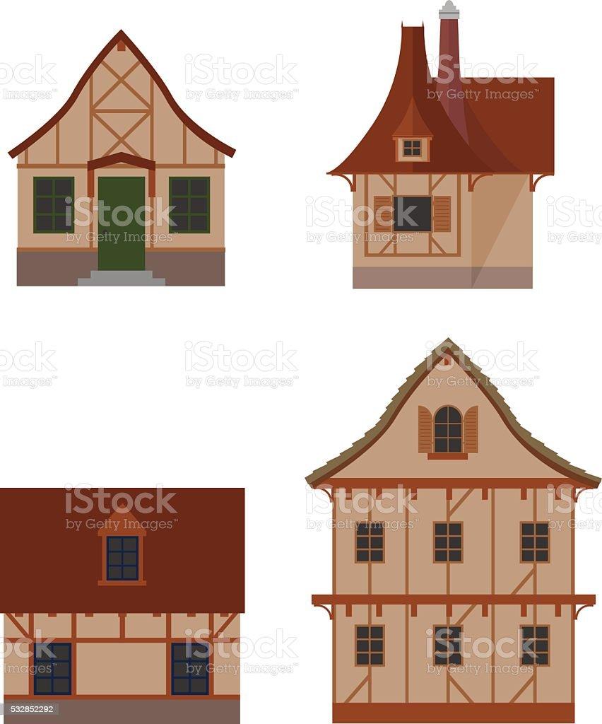 Casas de estructura de madera estructura madera acero u - Estructura casa madera ...