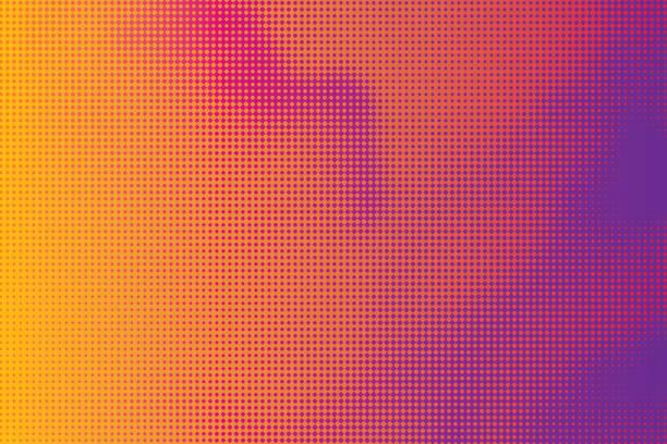 halbton abstrakten hintergrund wolkengebilde - morphing stock-grafiken, -clipart, -cartoons und -symbole