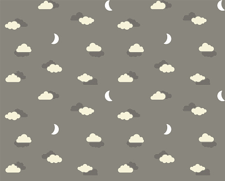 Halftone Clouds