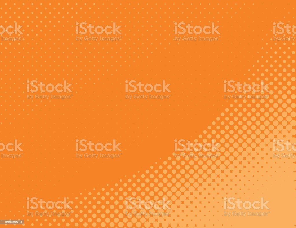 halftone curve vector art illustration