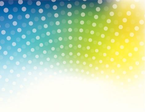 Halftone dot background