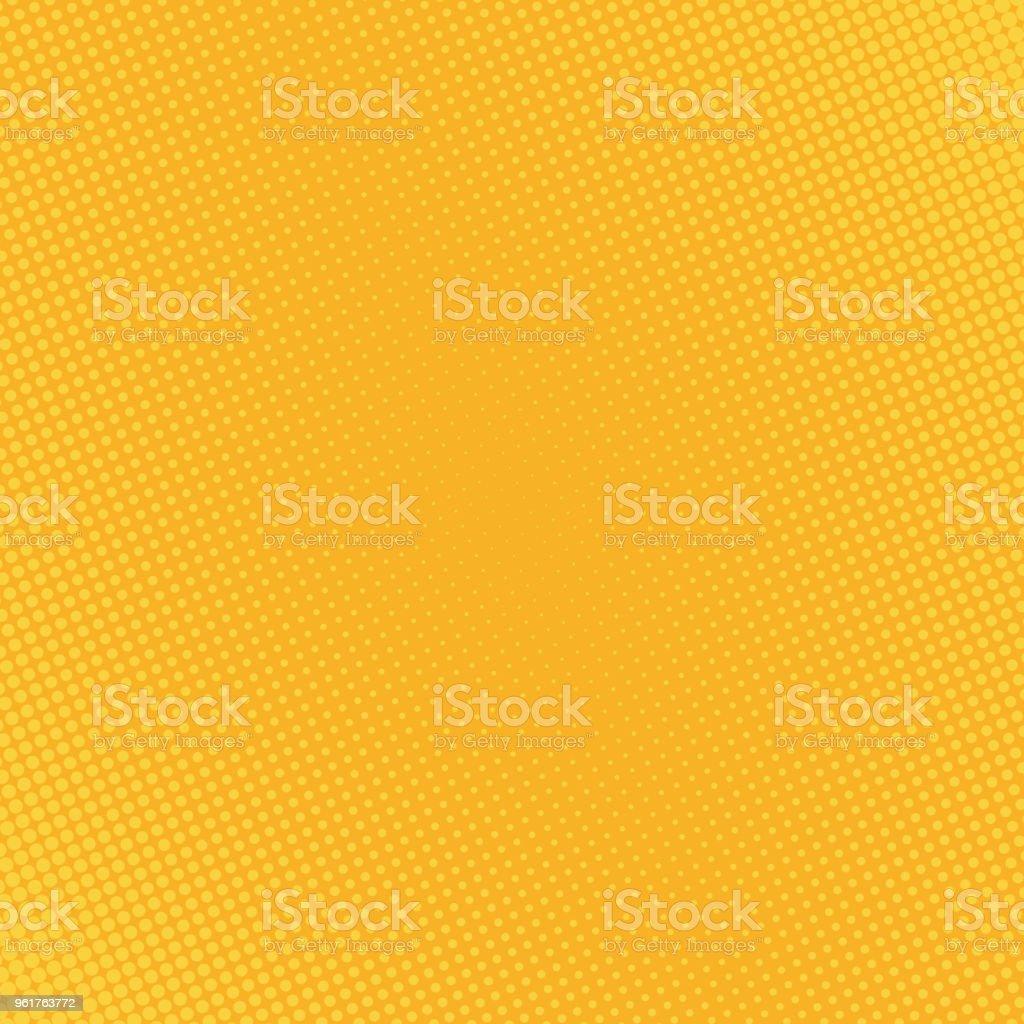 halftone dots background - illustrazione arte vettoriale