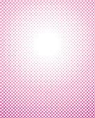 Halftone dots circle frame line art