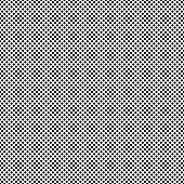 Halftone Dots Pattern. Halftone Black Background in Vector
