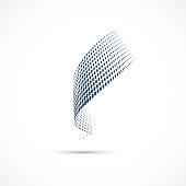HalfTone Dots Vector Icon
