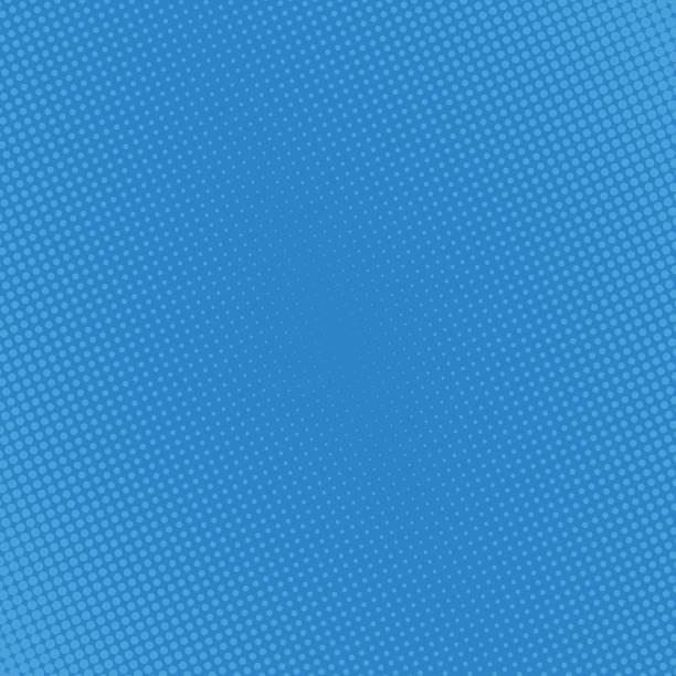 halftone dots Pop art comic background halftone dots. Cartoon Vector Illustration on blue book backgrounds stock illustrations