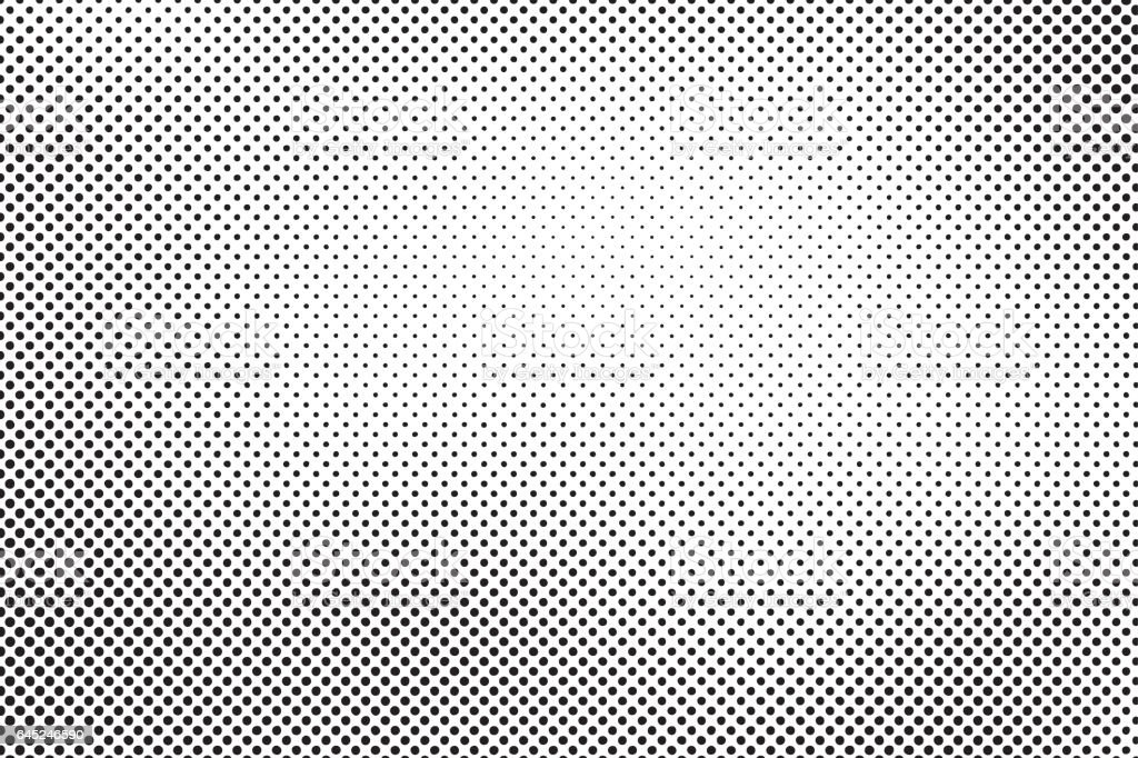 halftone dots vector vector art illustration