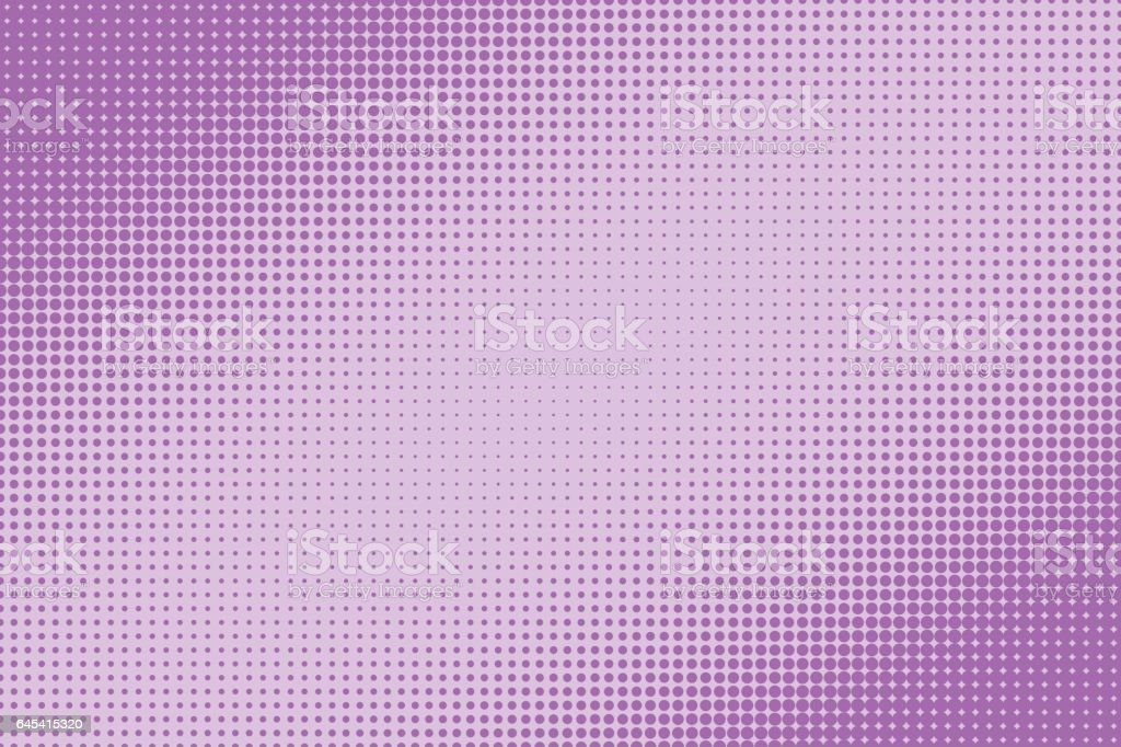 Halftone dotted pattern as a background
