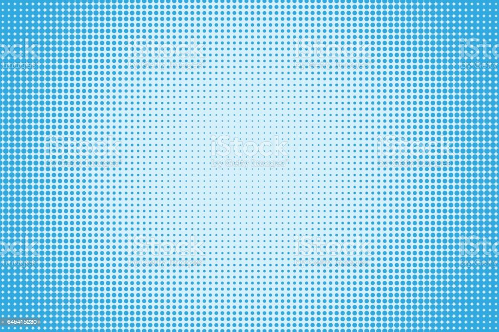 Halftone dotted pattern