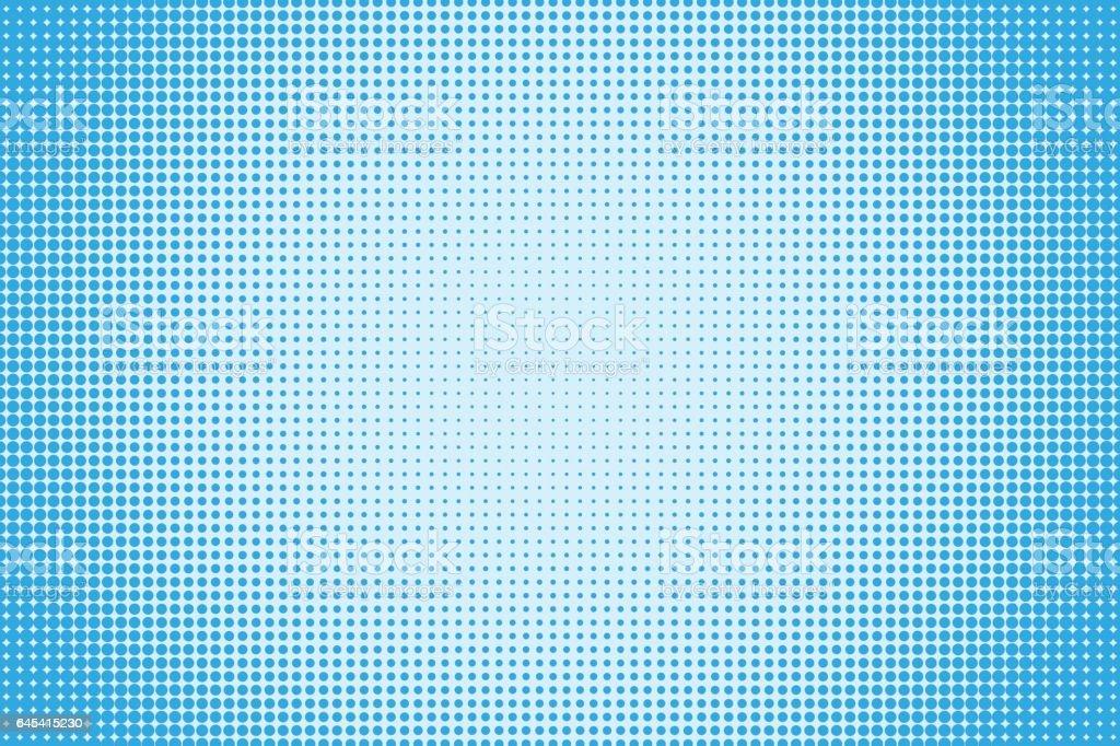 Halftone dotted pattern vector art illustration