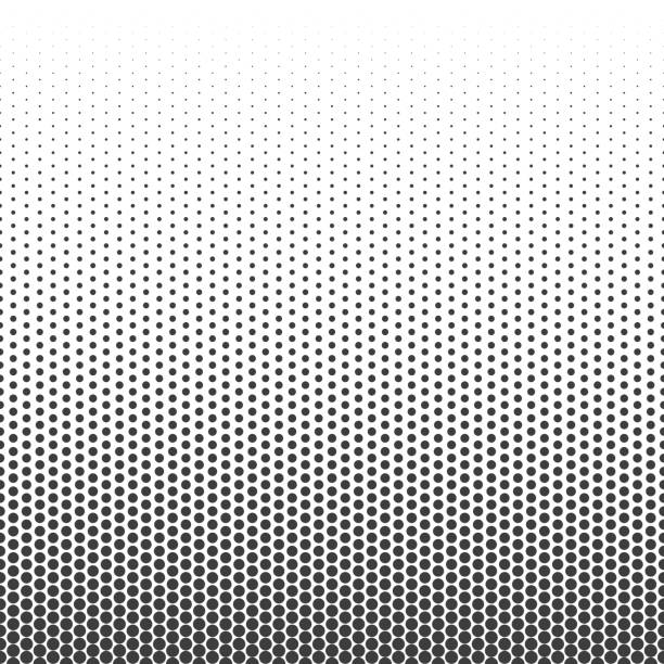 halftone dotted pattern. - half tone stock illustrations, clip art, cartoons, & icons