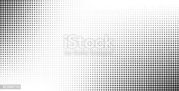 istock Halftone effect vector background 922890740