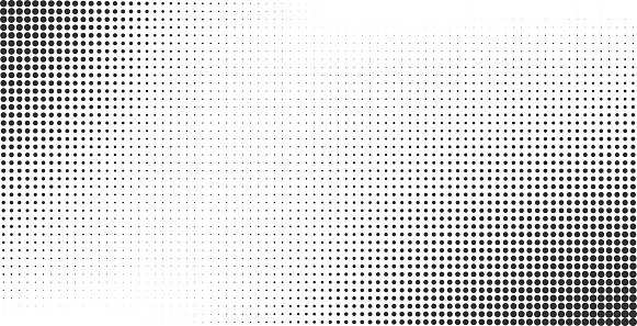 Halftone effect vector background clipart