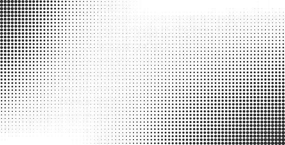 Halftone Effect Vector Background — стоковая векторная графика и другие изображения на тему Абстрактный