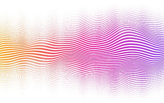 Halftone Gradient Background