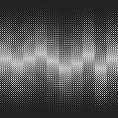abstract grid on the stripes. halftone vector background