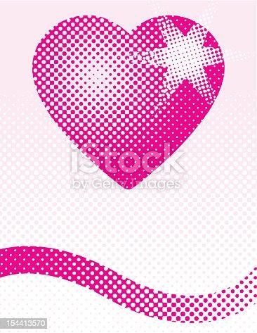 istock Halftone Heart 154413570