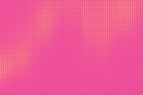Bекторная иллюстрация Halftone Pattern Abstract background with Motion Blur