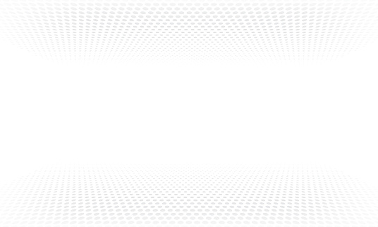 Halftone pattern background or vector abstract dot wave gradient backdrop clipart
