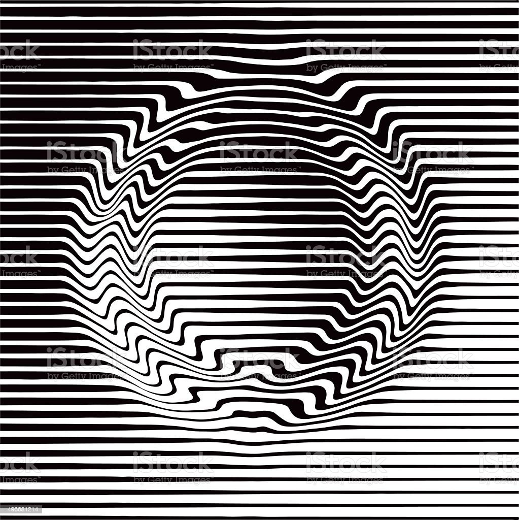 Halftone Pattern Gradient in Circle Shape vector art illustration