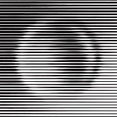 Halftone Pattern Gradient in Circle Shape