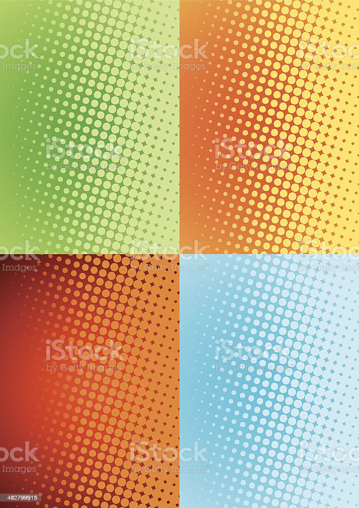 halftone pattern royalty-free stock vector art