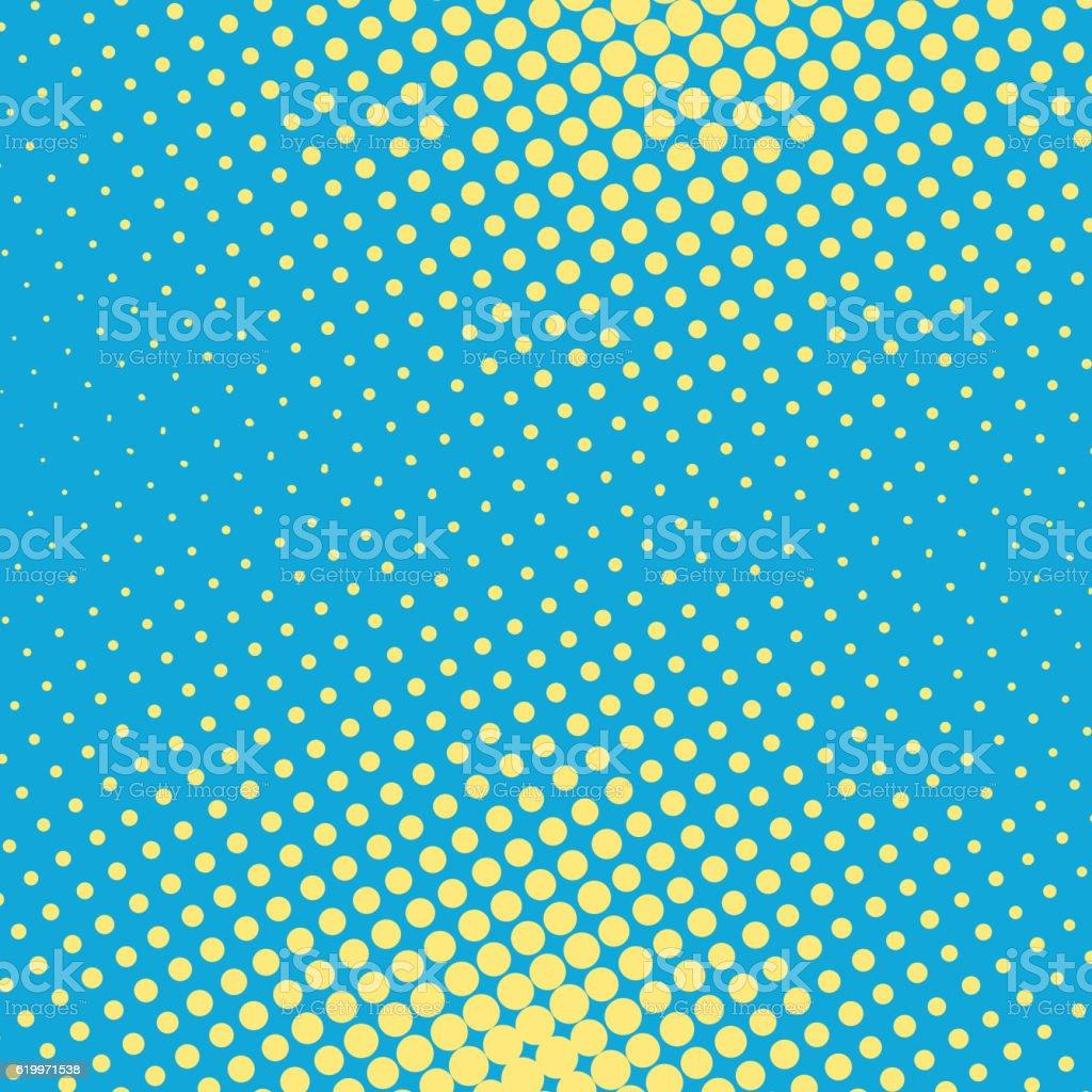Halftone pop art background vector vector art illustration