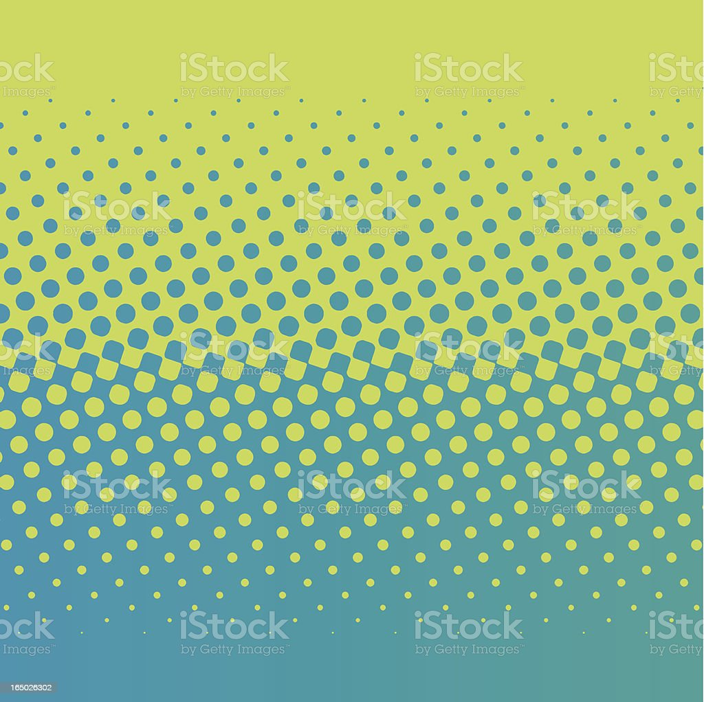 halftone screen gradation vector art illustration
