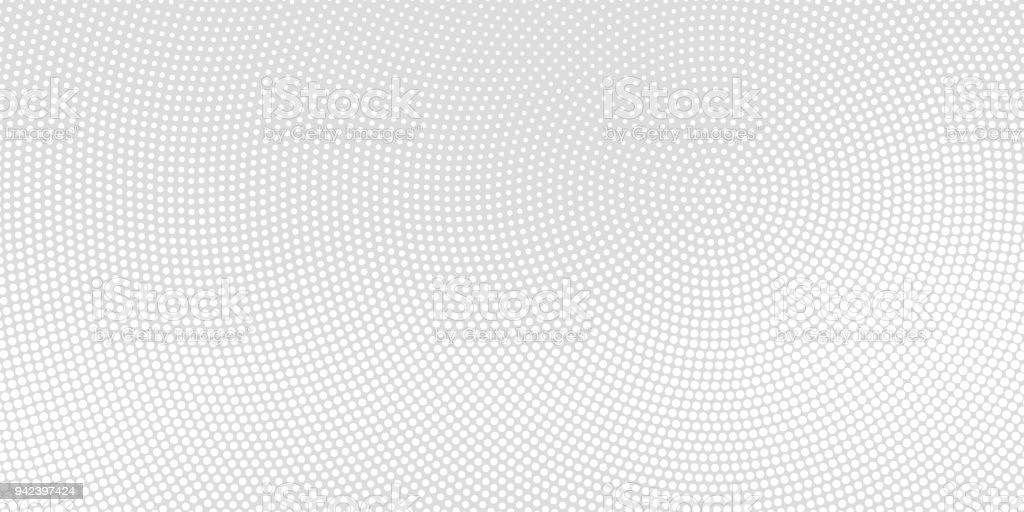Halftone spotted background vector art illustration