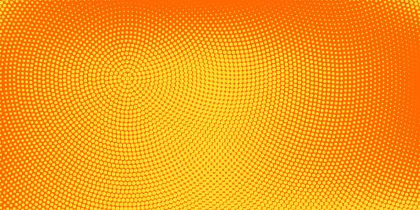 bildbanksillustrationer, clip art samt tecknat material och ikoner med halvton fläckig bakgrund - orange bakgrund