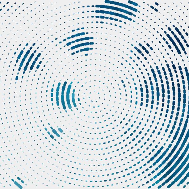 Halftone Halftone rippled stock illustrations